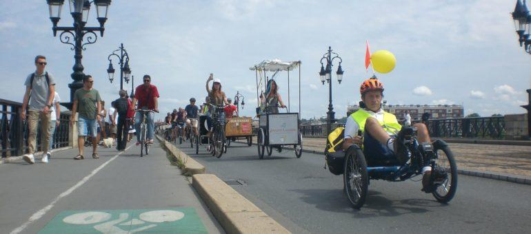 Le pont de pierre, porte du paradis des cyclistes et piétons