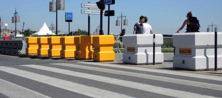 Sécurité des espaces publics : bientôt la fin des blocs de béton à Bordeaux ?