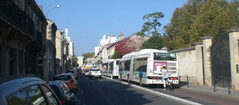 Des Bordelais veulent que le BHNS laisse la priorité aux voitures