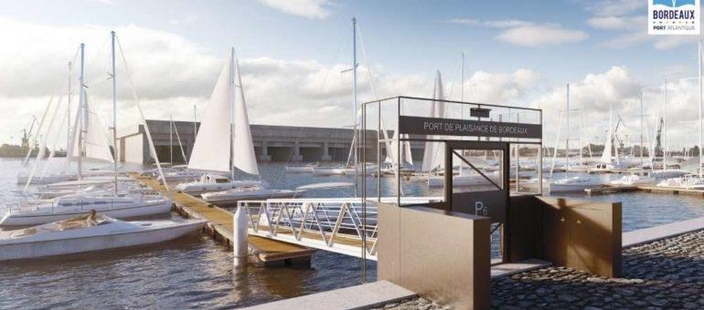 Nouvel aménagement pour le port de plaisance des Bassins à flot en 2018