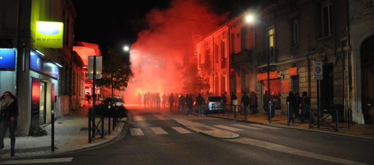 Visite sous tension pour l'identitaire Philippe Vardon à Bordeaux