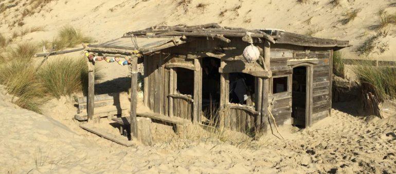 A Lacanau, la cabane de l'Alexandre restera debout et de bois flotté