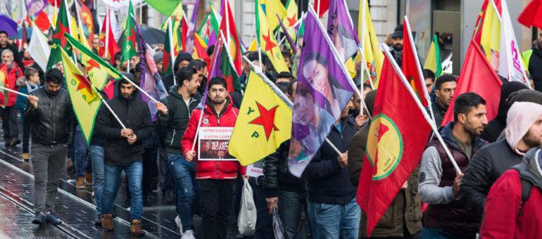 Contre l'offensive turque à Afrin, les Kurdes à Bordeaux ne désarment pas