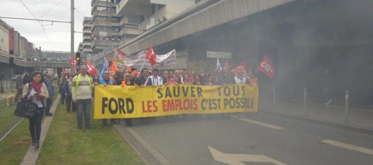 Les Ford ripostent aux annonces de départ de Blanquefort