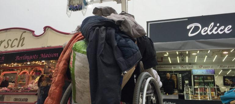 Je suis SDF, en fauteuil roulant, je veux bouger et vivre