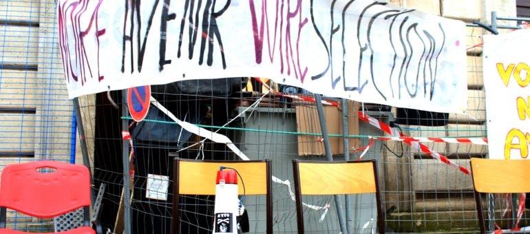 24 heures avec les étudiants du campus Victoire pour fêter un mois d'occupation