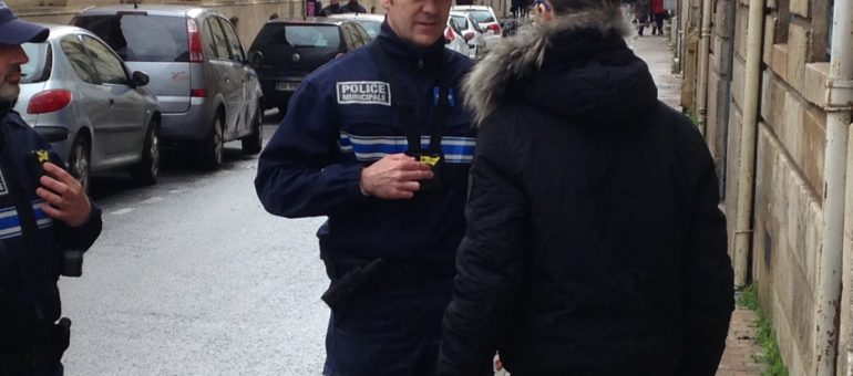 La police municipale de Bordeaux teste les caméras piétons