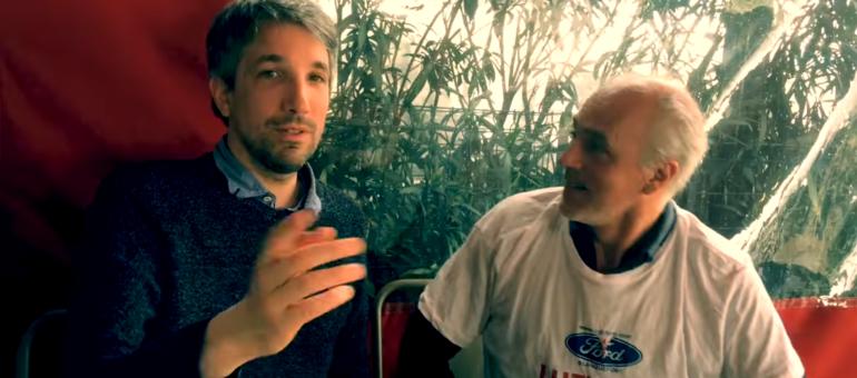 L'humoriste Guillaume Meurice en soutien aux Ford et à leur manif du week-end