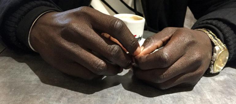 Thomas, secouru en Méditerranée, réfugié clandestin à Bordeaux