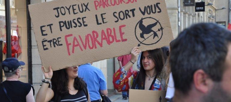 Contre la politique de Macron, 4000 manifestants à Bordeaux