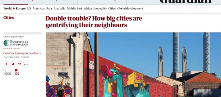 The Guardian s'intéresse à la gentrification de Bordeaux