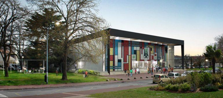 La Salle des Fêtes du Grand Parc : une exposition avant l'ouverture fin juin