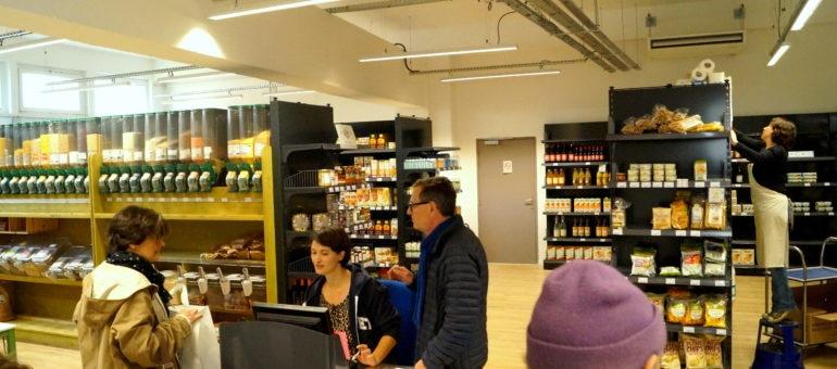 Le supermarché coopératif Supercoop débarque aux Terres Neuves