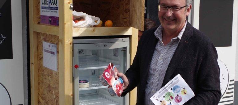 Un premier frigo anti gaspi à Bordeaux