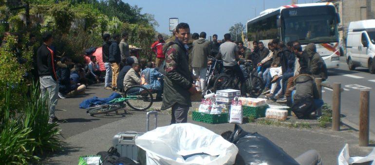 Énième «expulsion sans solution» des réfugiés sahraouis à Bordeaux