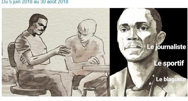 L'histoire dessinée d'Alpha Kaba, de l'esclavage en Libye au journalisme à Bordeaux
