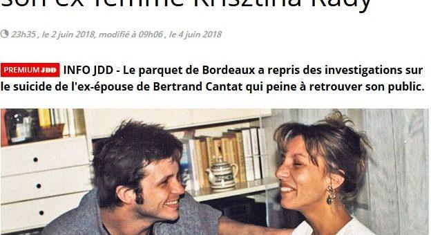 La justice relance l'enquête sur la mort de l'ex-femme de Bertrand Cantat