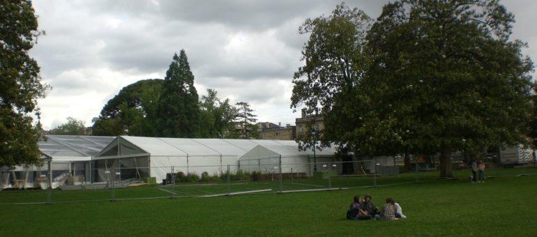 Pourquoi le jardin public devient un carré VIP privé ce week-end
