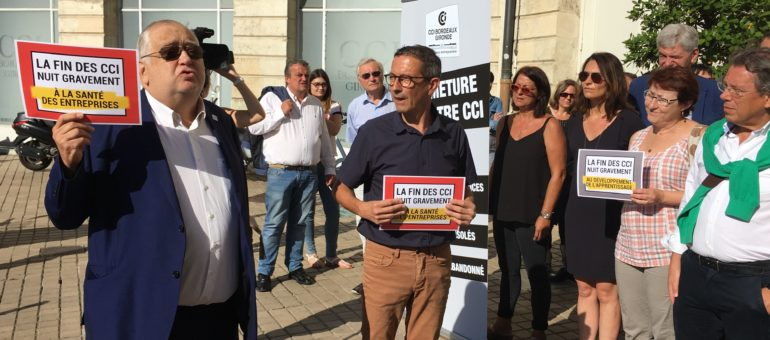 La CCI Bordeaux Gironde dénonce un «hold-up» du gouvernement