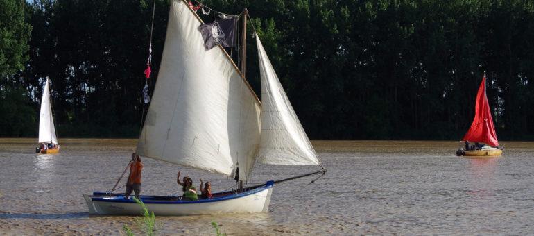 Week-end bateaux, entre deux expos, dans l'Entre-deux-Mers
