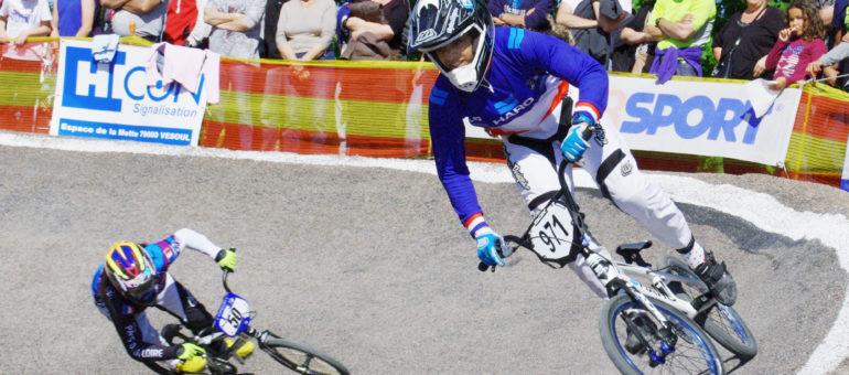Manon Valentino, la boss bordelaise du BMX
