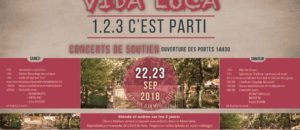 22 et 23 septembre : Festival La Vida Loca – 1, 2, 3, C'est parti !