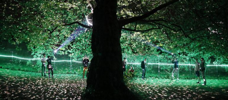 A Floirac, la Nuit verte éclaire le parc de l'Observatoire
