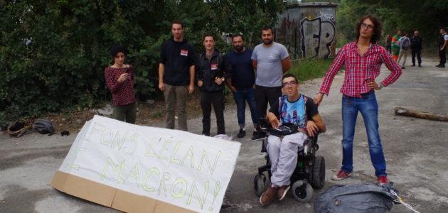 Ils ont bloqué l'usine Lafarge pour que la loi Elan n'entrave pas les handicapés