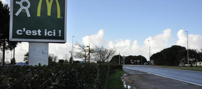 La cour d'appel de Bordeaux devrait lever le barrage au MacDonald's d'Oléron