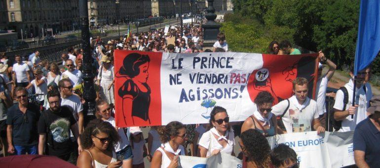 Entre 4000 et 10000 personnes ont marché pour le climat à Bordeaux