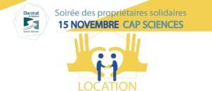 15 novembre : Soirée des propriétaires solidaires