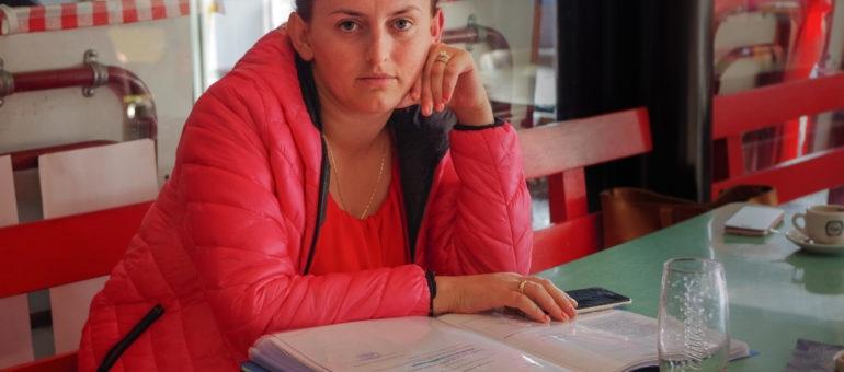 Malgré 4 ans de bénévolat au service de l'Etat, Drita est menacée d'expulsion