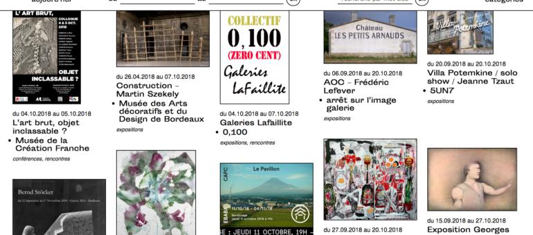 bordeauxartcontemporain.com : Musées, galeries, collectifs et assos ensemble