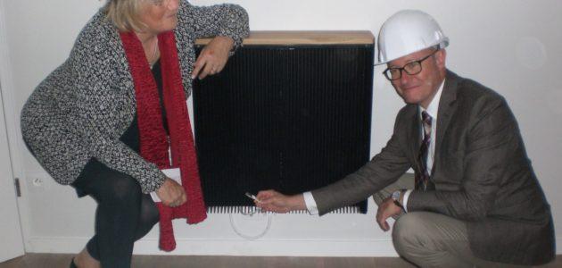 Des logements chauffés gratuitement par un data center maison