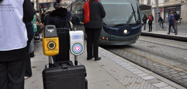 Valider sur les quais avant de monter dans le tram, c'est pour bientôt à Bordeaux