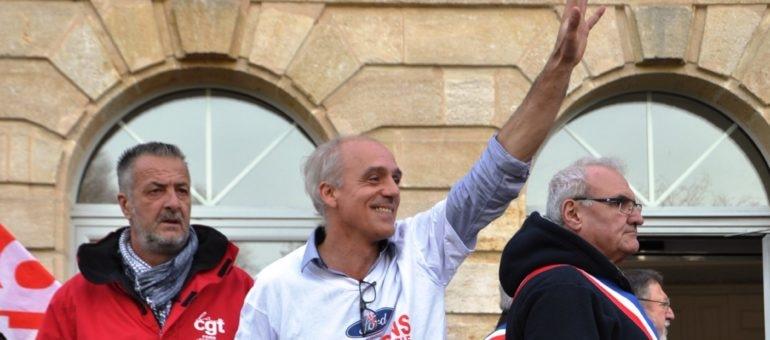 Philippe Poutou candidat pour Bordeaux en Luttes