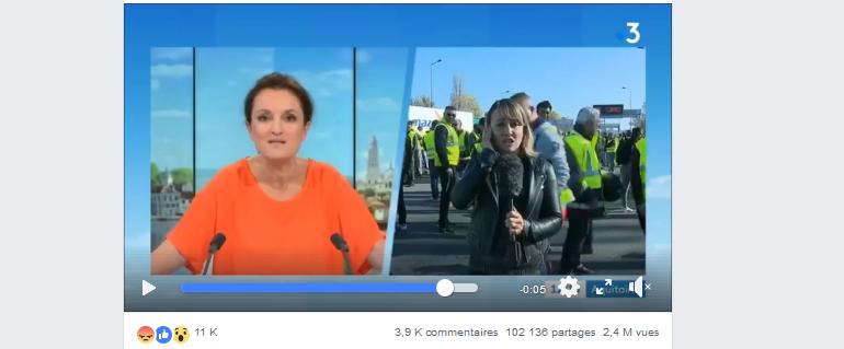 France 3 Aquitaine a-t-elle censuré une charge des CRS contre les gilets jaunes ?