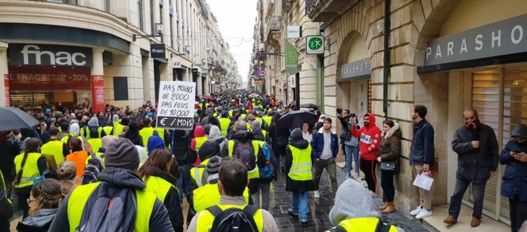 Gilets jaunes : Bordeaux et la métropole volent au secours des commerçants