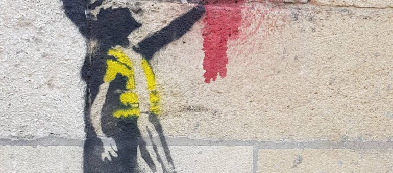 Une œuvre de Banksy à Bordeaux pour soutenir les Gilets jaunes ?
