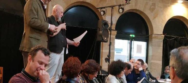Marché de la poésie : J'ai participé à un atelier d'écriture avec CharlÉlie Couture