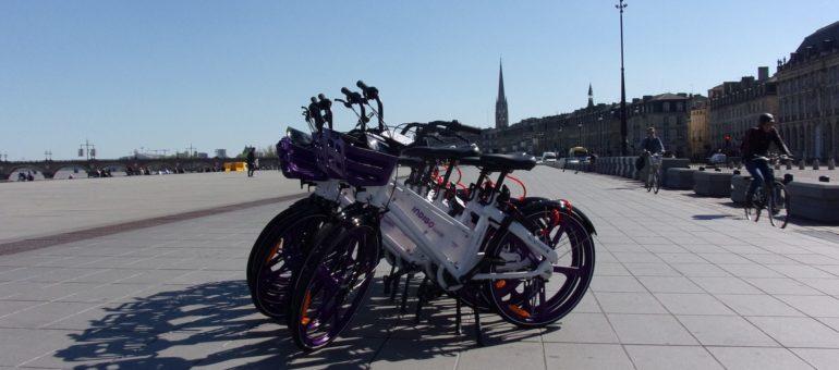 Bordeaux va fixer des quotas de vélos, trottinettes et scooters en free floating