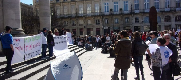 Le #CollectifUnToitSansTrêve demande à la nouvelle préfète d'héberger tous les sans-abris, l'été aussi