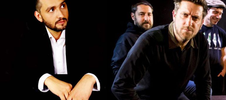 Nous avons croisé Les Hurlements d'Léo et Luis Gárate Blanes avant leur concert pour Bienvenue