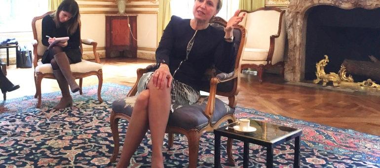 Fabienne Buccio, la préfète de Nouvelle-Aquitaine, promet d' «être à l'écoute»