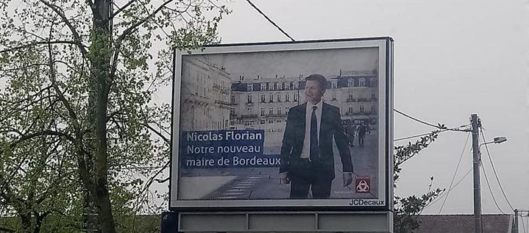 Affiches de Nicolas Florian : la commission des comptes de campagne ne devrait pas tiquer