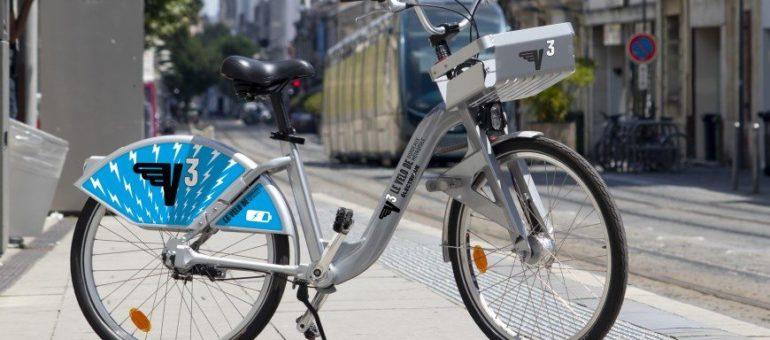 1000 vélos électriques pour que le V³ redevienne branché à Bordeaux
