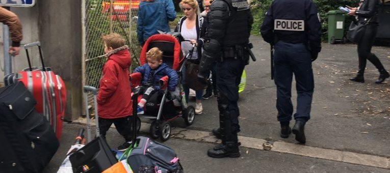 170 personnes environ expulsées d'un squat à l'Université de Bordeaux