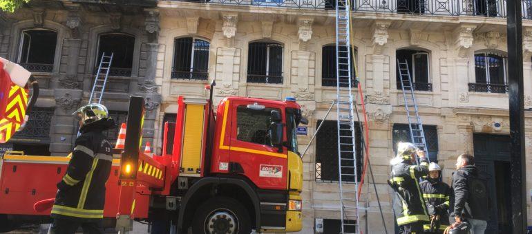 Après l'incendie des Salinières, c'est au tour de la rue Ferrère