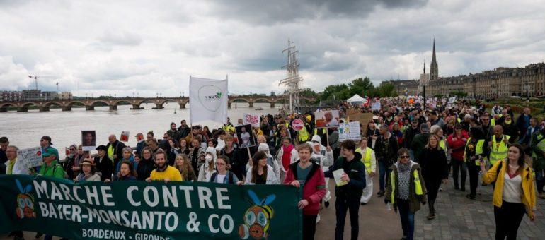 1200 manifestants à Bordeaux contre Bayer-Monsanto