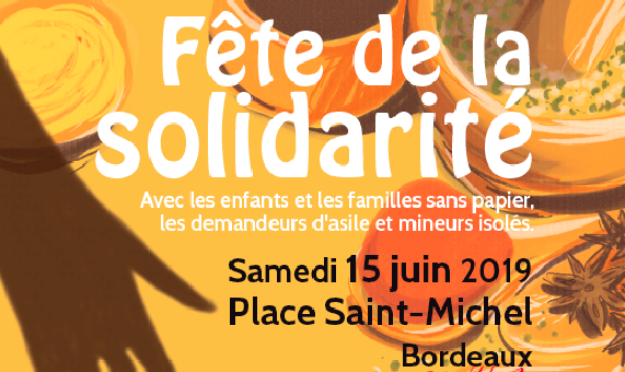 15 juin : La fête de la solidarité place Saint-Michel